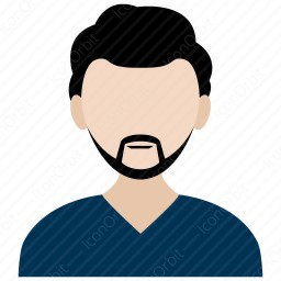 Man With French Cut Beard icon